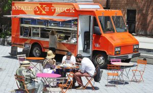 The owners of the Small Axe food truck knew from the start that they evenutally wanted to open a restaurant.
