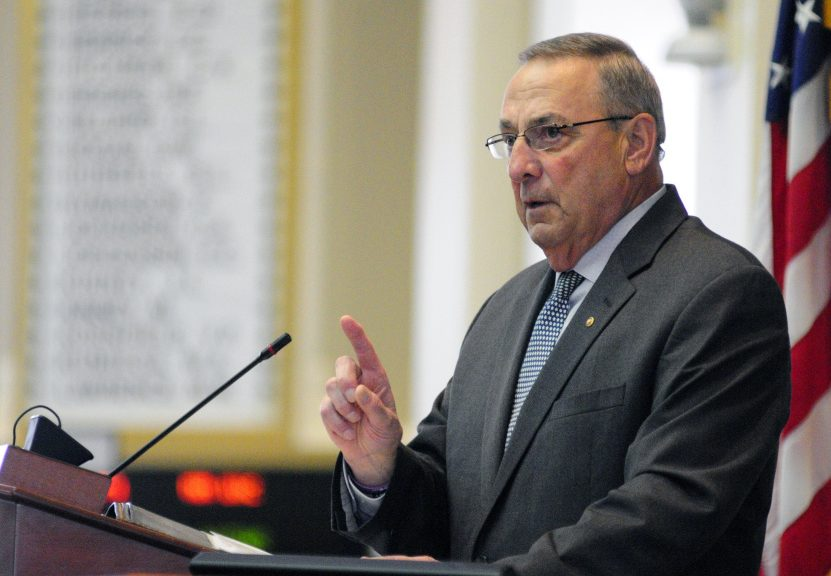 Gov. Paul LePage fancies himself a student of history, but he continues to misrepresent the past to justify his racially charged ideas. Mainers suffer from guilt by association when he expresses such notions.