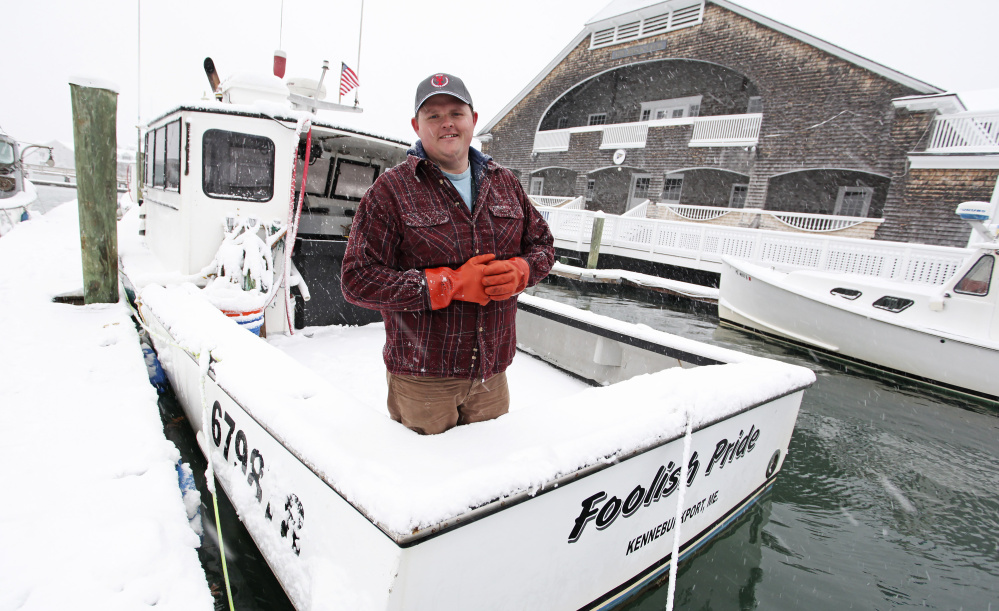 Kennebunk lobsterman Chris Welch, 28, never had health insurance until Obamacare was enacted. Now he's among the thousands of people working in Maine's fishing industries who could lose health benefits if the ACA is repealed without a comprehensive replacement.