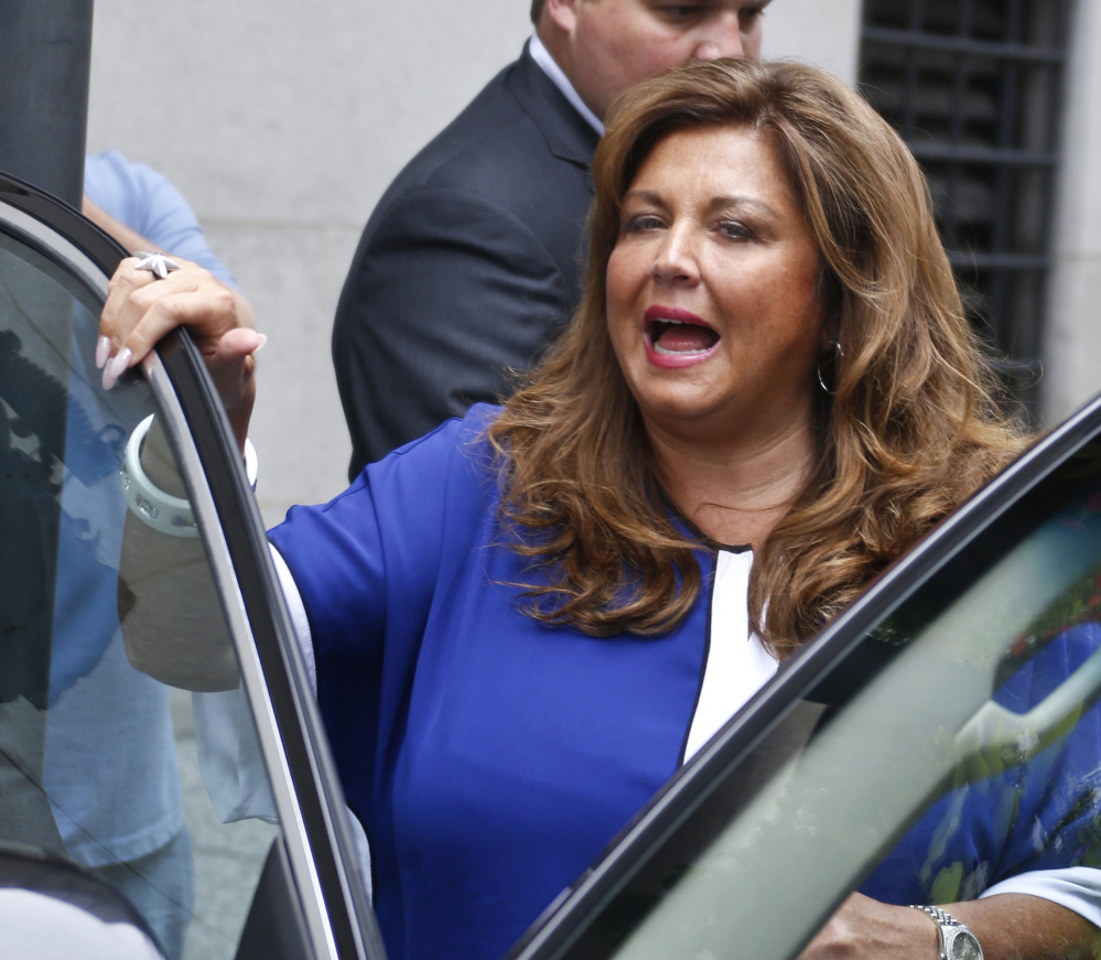 'Dance Moms' star Abby Lee Miller pleaded guilty last June to bankruptcy fraud and failing to report thousands of dollars in Australian currency she brought into the country.