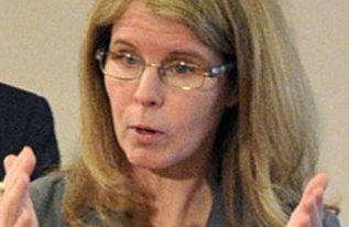Gov. LePage and Health and Human Services Commissioner Mary Mayhew, seen in 2015, are seeking federal approval to charge premiums and co-pays to some MaineCare recipients – a move that would likely discourage enrollment and keep Mainers from getting preventive care.