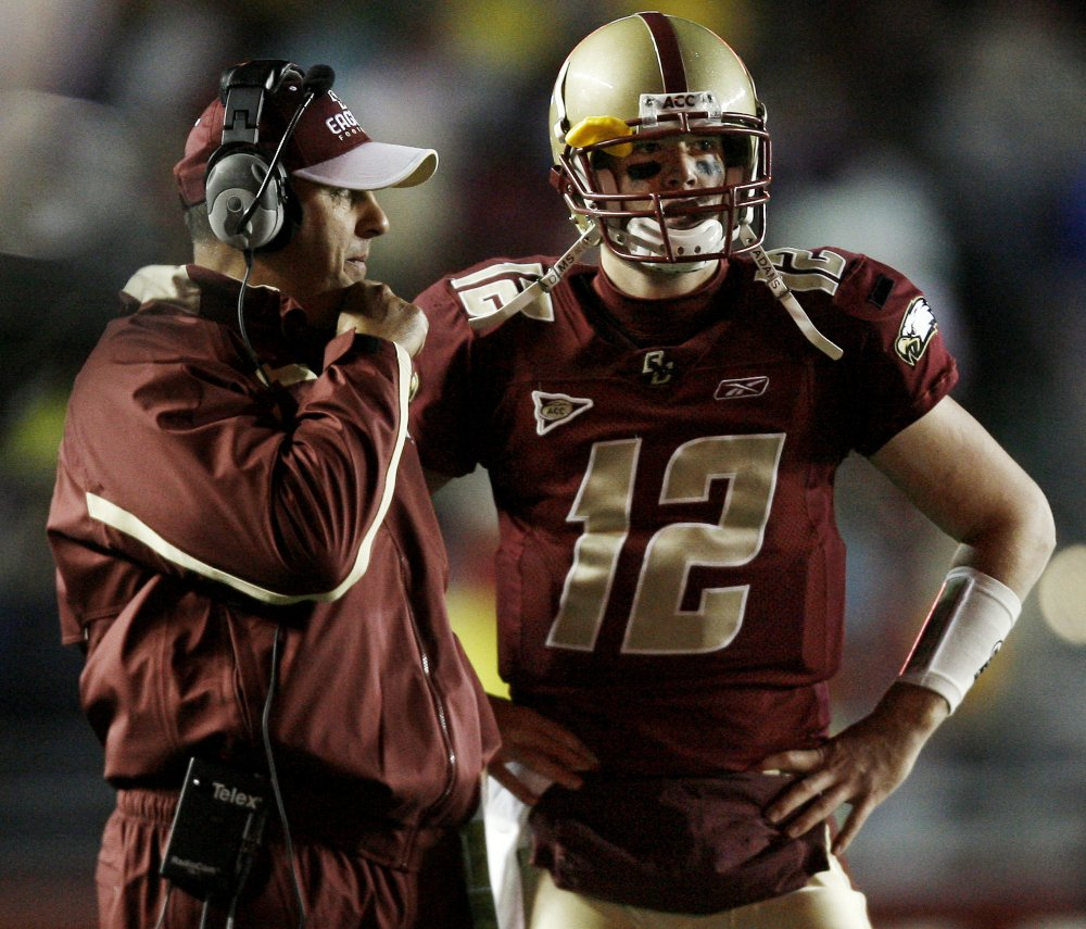 Matt Ryan showed his toughness and made a big impact during his career at Boston College. He went 3-0 in bowl games, beat four top-20 teams on the road and won multiple awards as the top QB in the country.