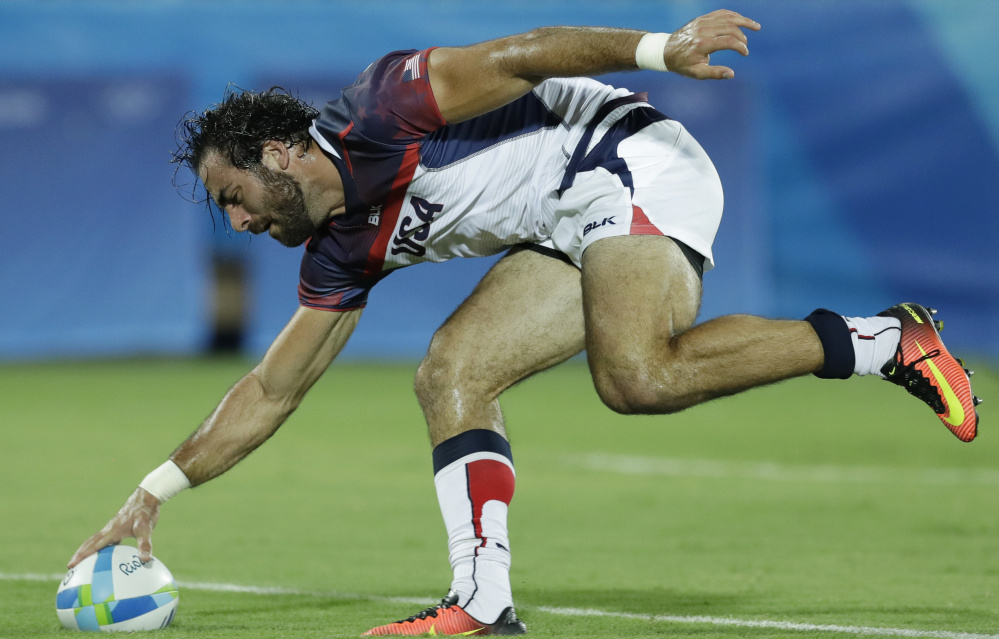 "Nate Ebner played on the U.S. Olympic team in rugby and also will be in the Super Bowl. ""Both are very special, both mean the world to me."""