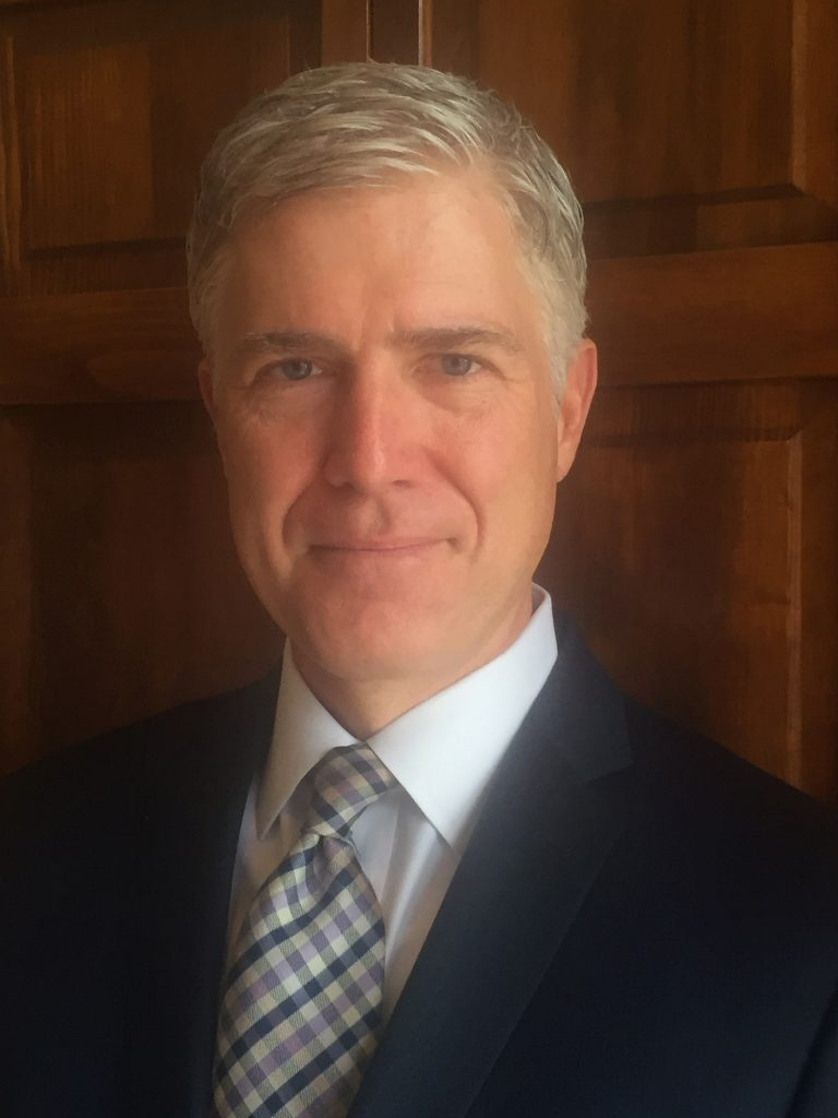 Judge Neil Gorsuch of the 10th U.S. Circuit Court of Appeals is one of three finalists chosen by President Trump to fill a vacancy on the U.S. Supreme Court.
