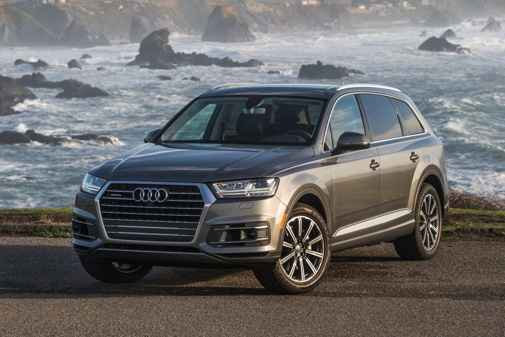 Audi's Q7 is the company's flagship SUV.