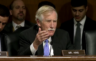 Sen. Angus King said,
