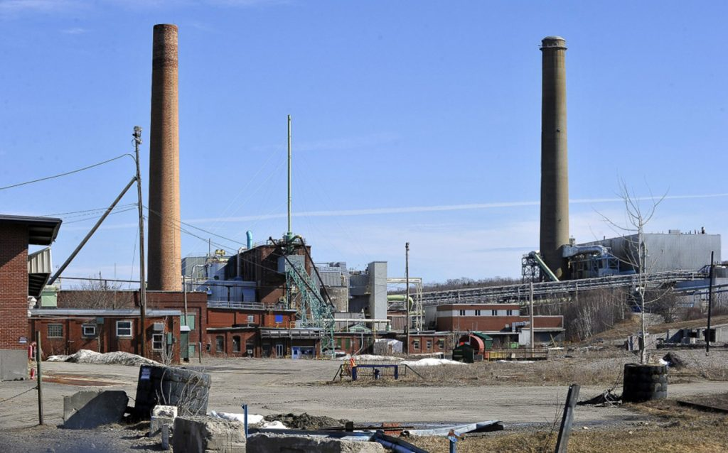 The former Great Northern Paper mill in Millinocket,  shown here in 2011, was dismantled and sold for scrap beginning in 2013.
