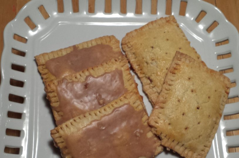 Homemade varieties of Pop-Tarts include brown sugar cinnamon frosted, left, and raspberry. The recipe offers eight filling options and suggestions for experimenting with your favorite flavor.