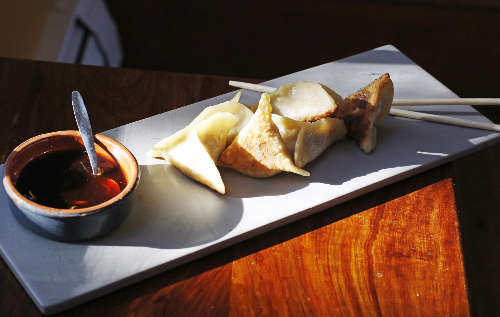 Dumplings are a great way to use odds and ends in your refrigerator to create something new and tasty.