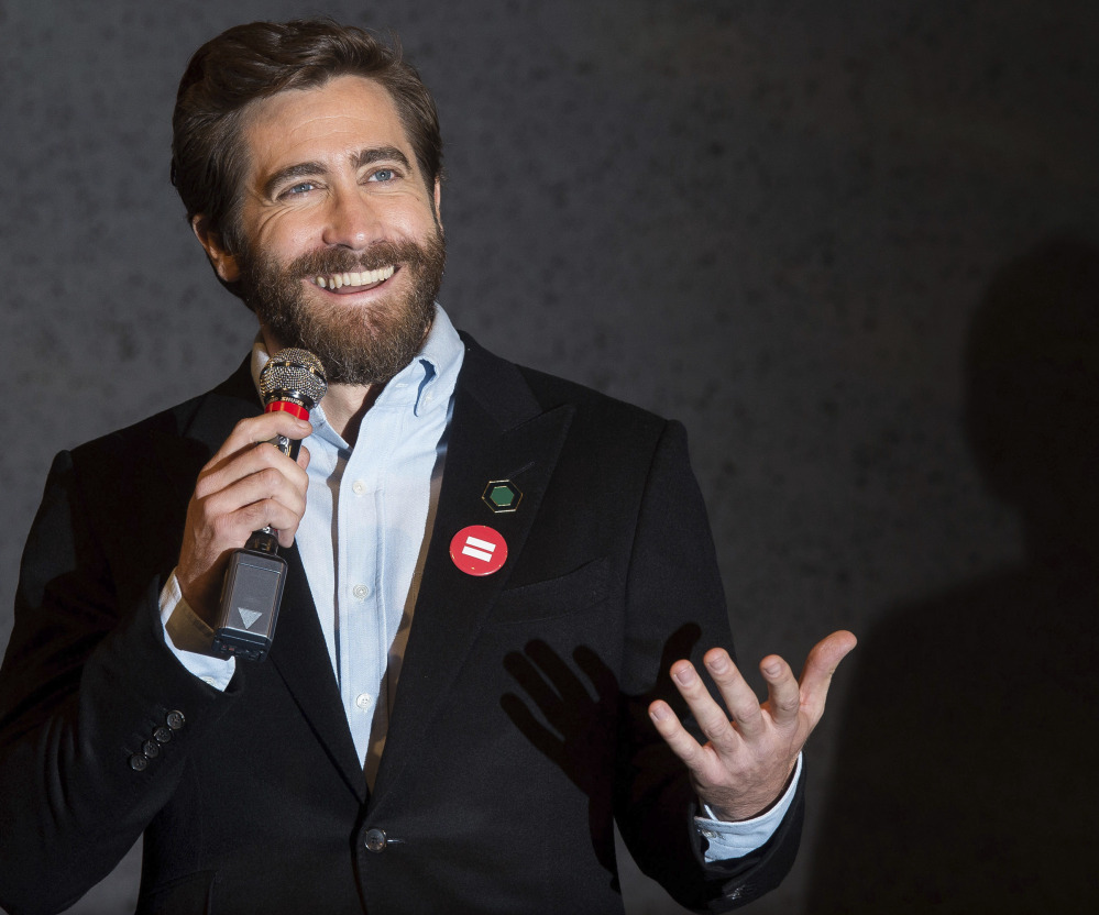 Jake Gyllenhaal participates in Broadway's