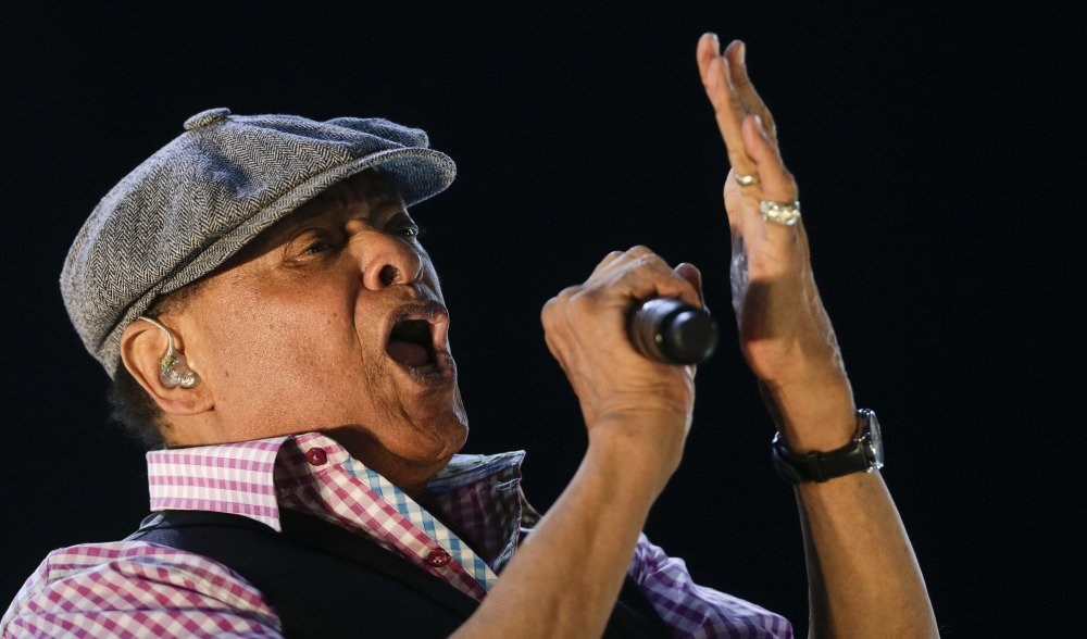 "Al Jarreau performs in Rio de Janeiro, Brazil, in 2015. The Wisconsin native prided himself on crossover appeal, saying, ""Don't ... say I can't listen to Muddy Waters because I'm a jazzer."""