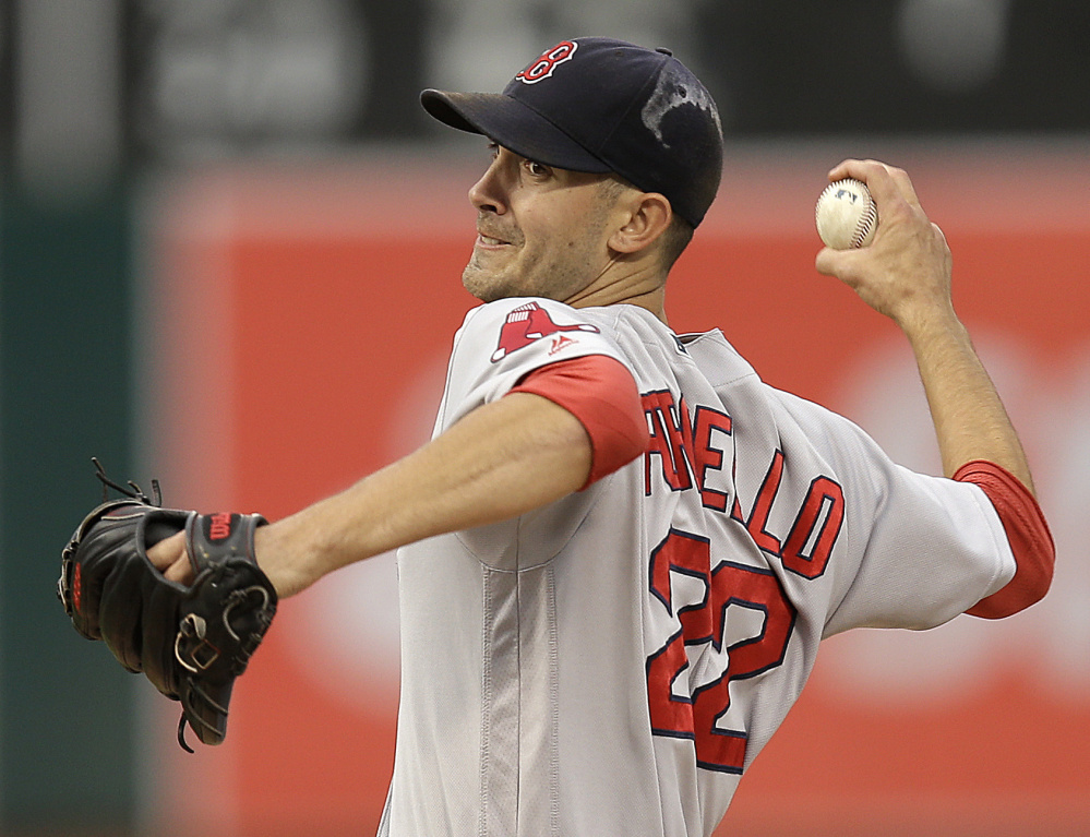 After winning the American League Cy Young Award last season, Rick Porcello could be in line to start Opening Day for the Red Sox. But he has competition from fellow aces David Price – last season's Opening Day starter – and Chris Sale, the longtime leader of the White Sox rotation.