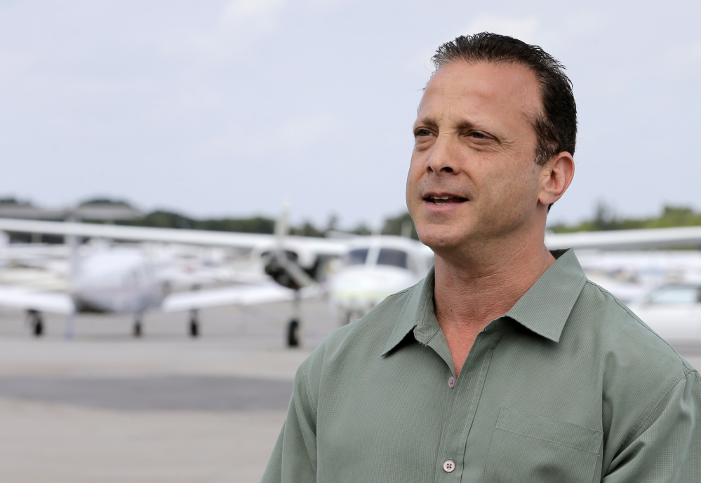 Jonathan Miller, a countractor who operates the Lantana Airport in Florida, says he fears some of the airport's 28 businesses will go under.