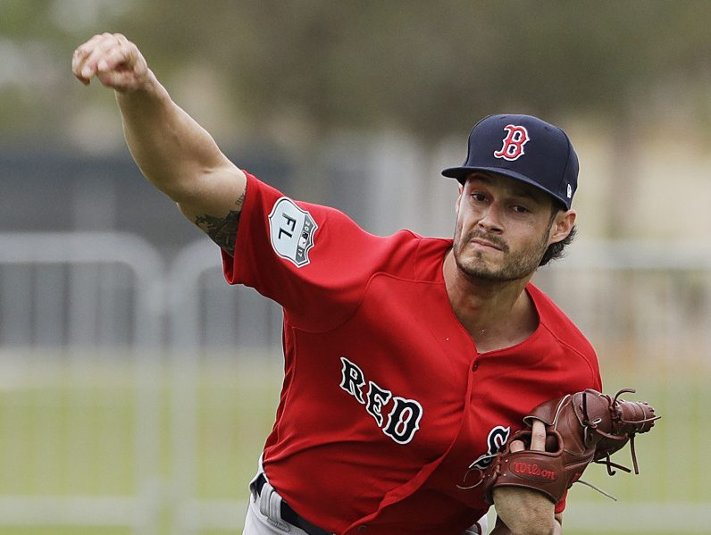 Joe Kelly, who has switched from a starting role to a reliever with the Boston Red Sox, has abandoned his change-up and instead is emphasizing his fastball along with a curve or slider this season.