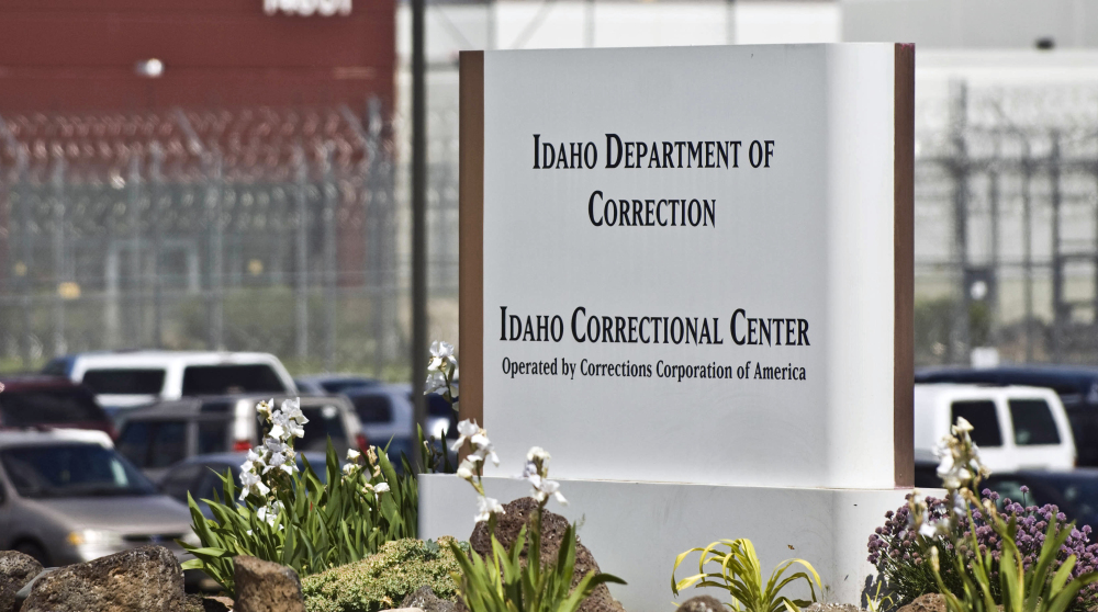 The Idaho Correctional Center south of Boise, Idaho, is operated by CoreCivic, which used to be known as the Corrections Corporation of America.