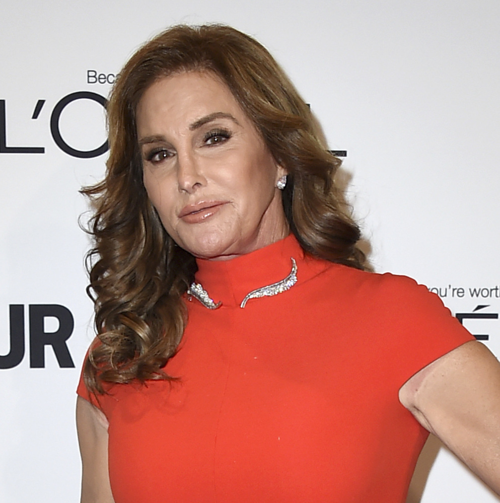 Caitlyn Jenner arrives at the Glamour Women of the Year Awards in Los Angeles in November 2016.