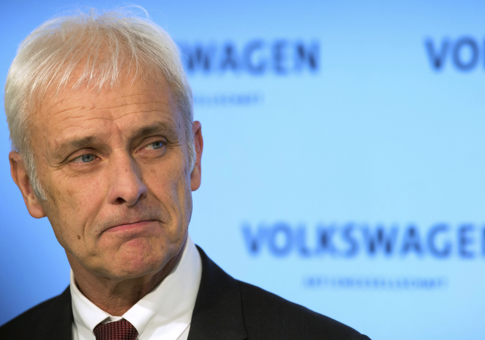 "Despite the diesel emissions scandal, Volkswagen's ""operating business gave its best-ever performance"" last year, said VW's CEO Matthias Mueller on Friday."