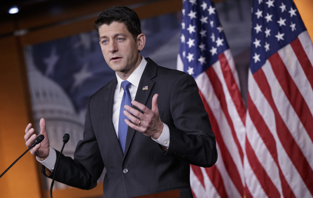 A 105-page draft Republican health care bill largely tracks talking points that House Speaker Paul Ryan of Wisconsin unveiled last summer.