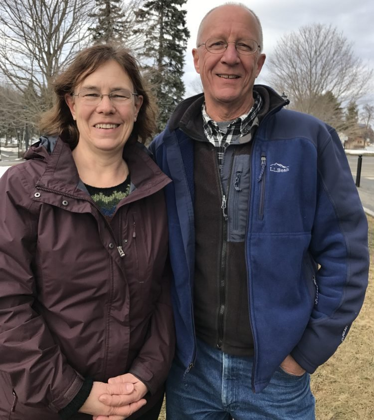 Sarah and Phil Groman of Union traveled to Augusta Saturday to take a stand supporting the Affordable Care Act, also known as Obamacare, that provides insurance for their 27-year-old son and 80,000 people in Maine.