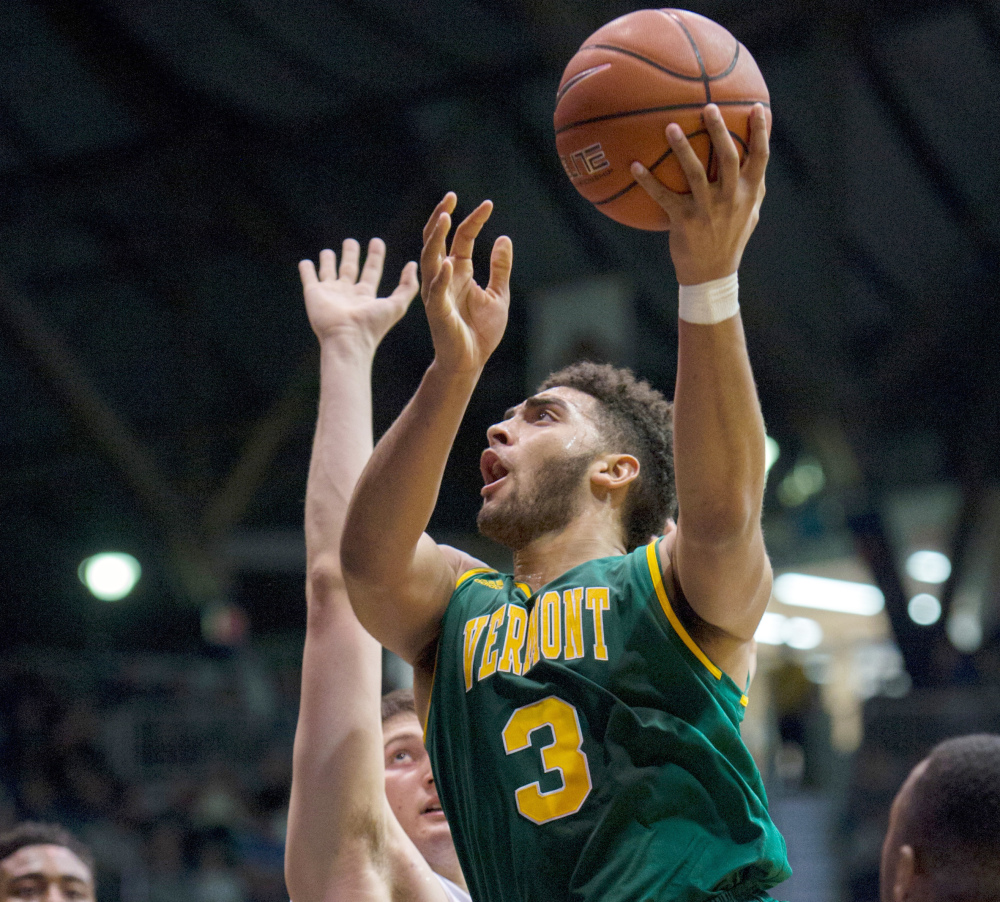 Anthony Lamb of Vermont is the America East Rookie of the Year, averaging just a little less than 12 points per game. The Catamounts have the nation's longest winning streak after Gonzaga fell at home Saturday night.