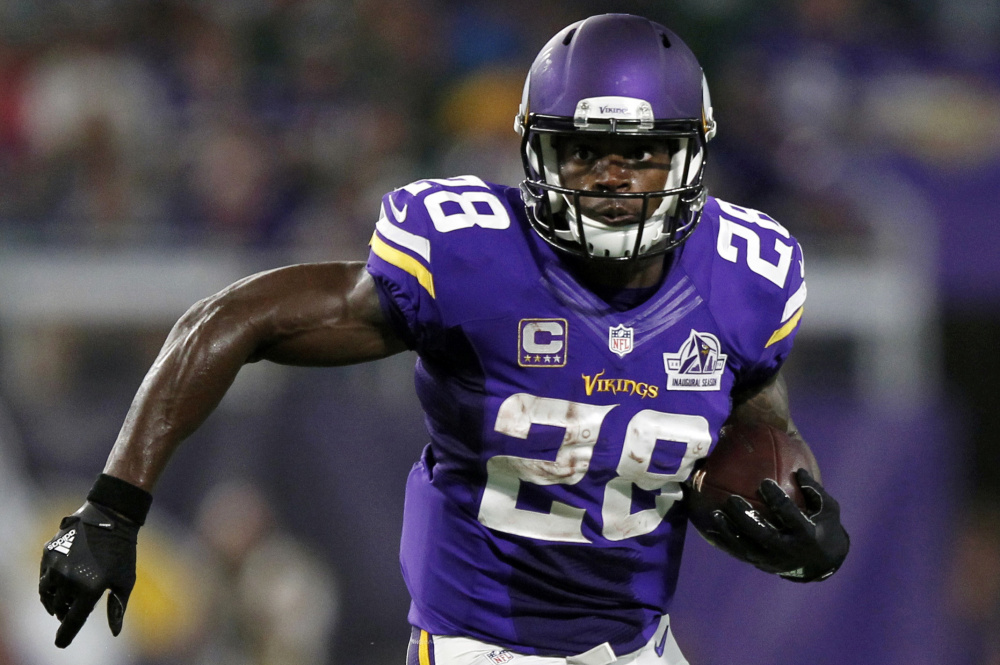 The Minnesota Vikings declined Tuesday to exercise their option for next season on running back Adrian Peterson, who would have made $18 million – by far the most in the league for a player at his position.