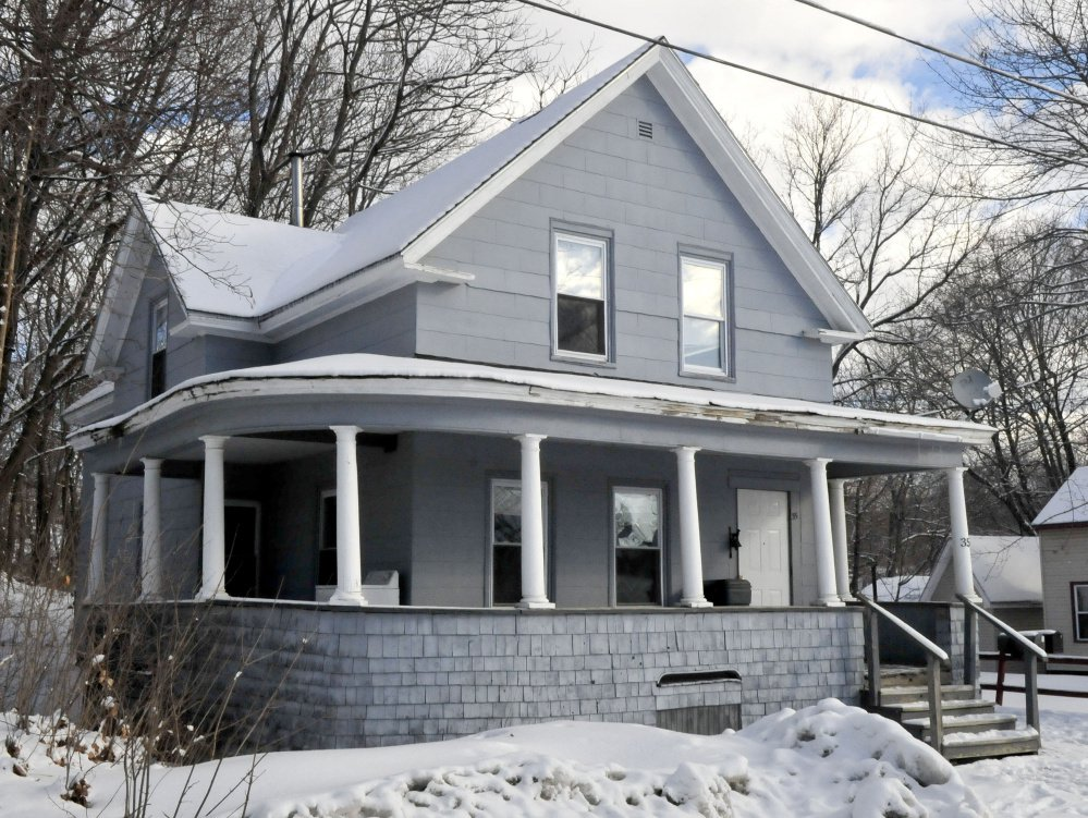 This home at 35 Spruce St. in Waterville was scene of a police drug raid Wednesday that resulted in the seizure of $6,000 worth of crack cocaine.