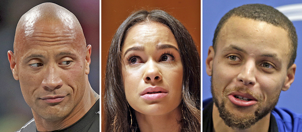 "Actor Dwayne ""The Rock"" Johnson, dancer Misty Copeland and the NBA's Stephen Curry have all leveled criticism at Under Armour CEO Kevin Plank."