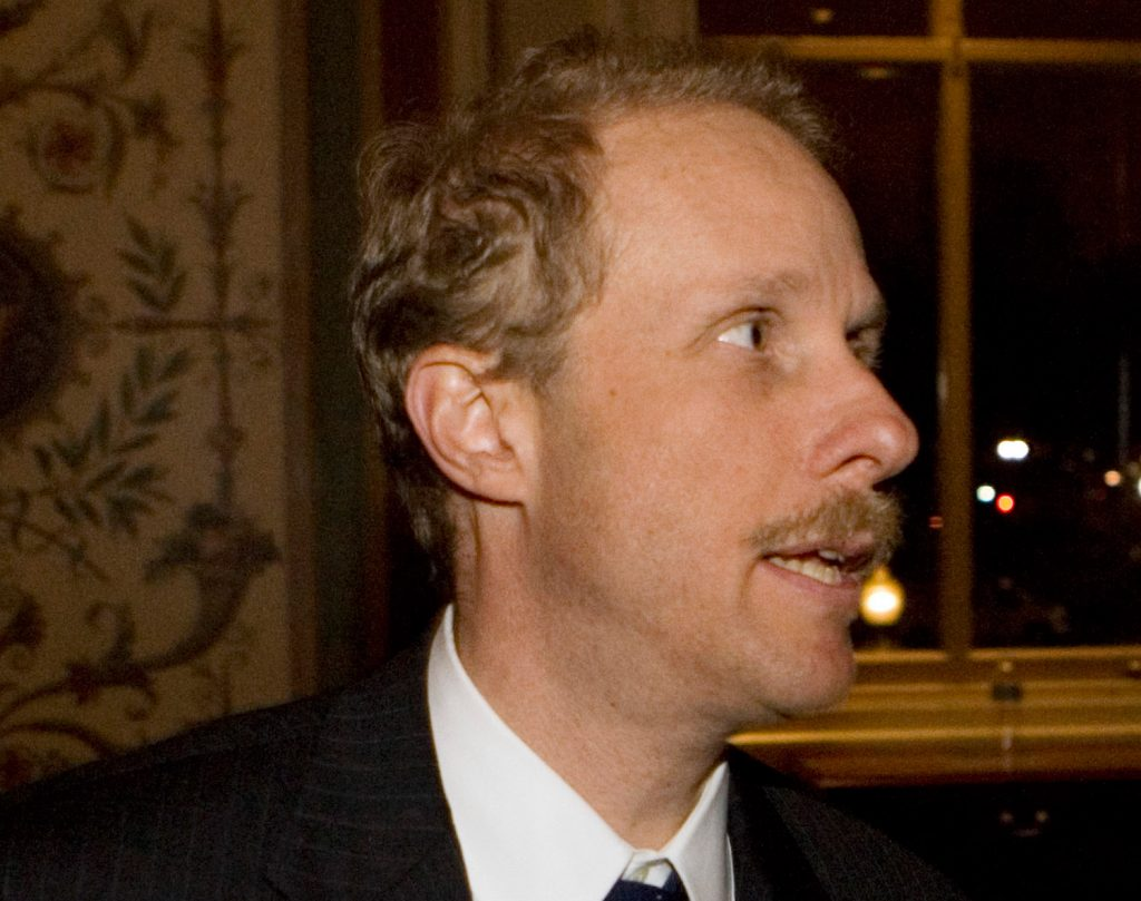 Private equity firm founder Stephen Feinberg, seen on Capitol Hill in Washington in this 2008 photo, has been chosen by the Trump administration to lead a review of the U.S. intelligence community.