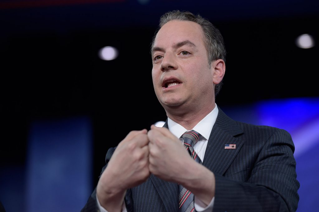 White House chief of staff Reince Priebus asked both FBI Director James Comey and Deputy Director Andrew McCabe if they would condemn a New York Times story publicly, which they declined to do. The White House says the FBI first approached them about the veracity of the story.