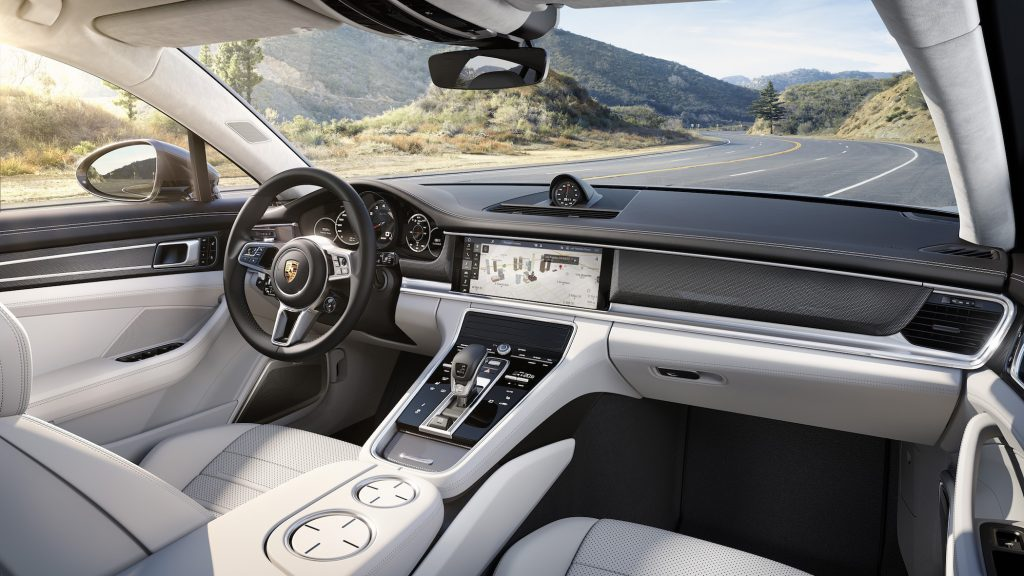 The 2017 Porsche Panamera Turbo has a roomy interior, the manufacturer says.