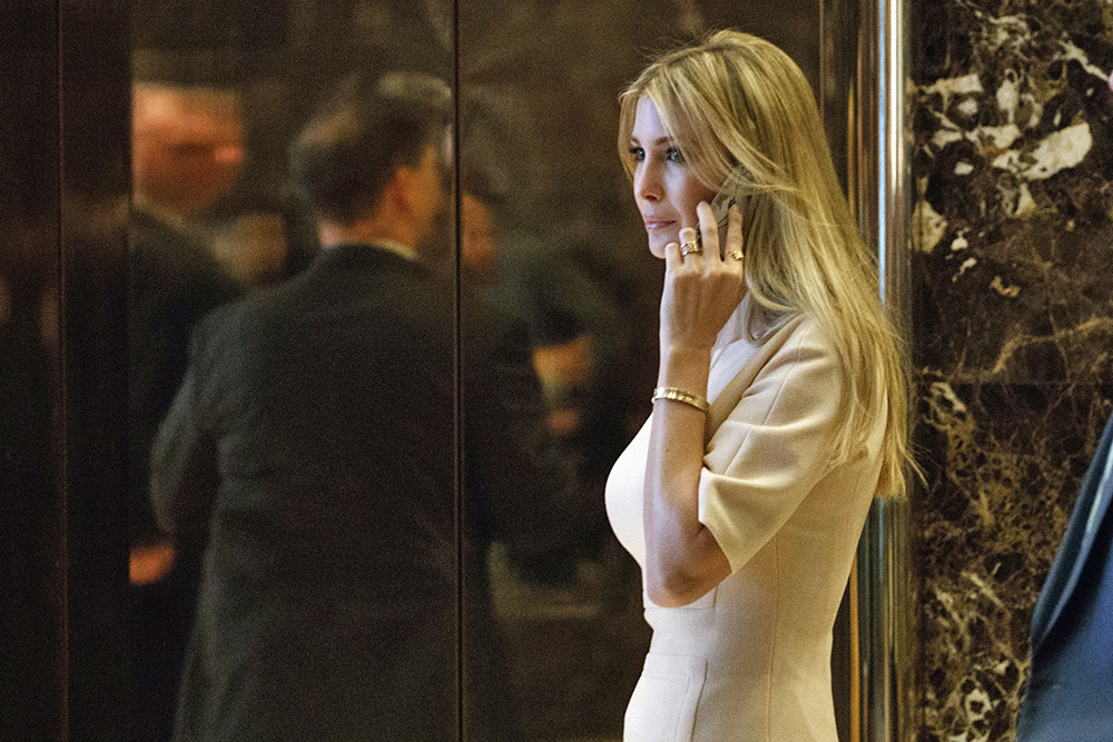 Ivanka Trump arrives at Trump Tower in New York on Nov. 11, 2016. Nordstrom had been an early supporter of her brand after it launched in 2011. But recently her products began to disappear from its inventory, and the chain confirmed that it decided not to reorder the brand's merchandise.