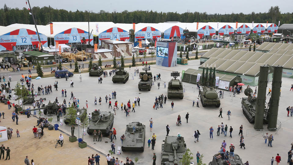 "Patriotic Park has a ""soft opening""  in 2015. The park in Kubinka, Russia, is planned to open officially in 2017, is designed around a military theme, and will include a Reichstag replica and other interactive exhibits with military equipment."