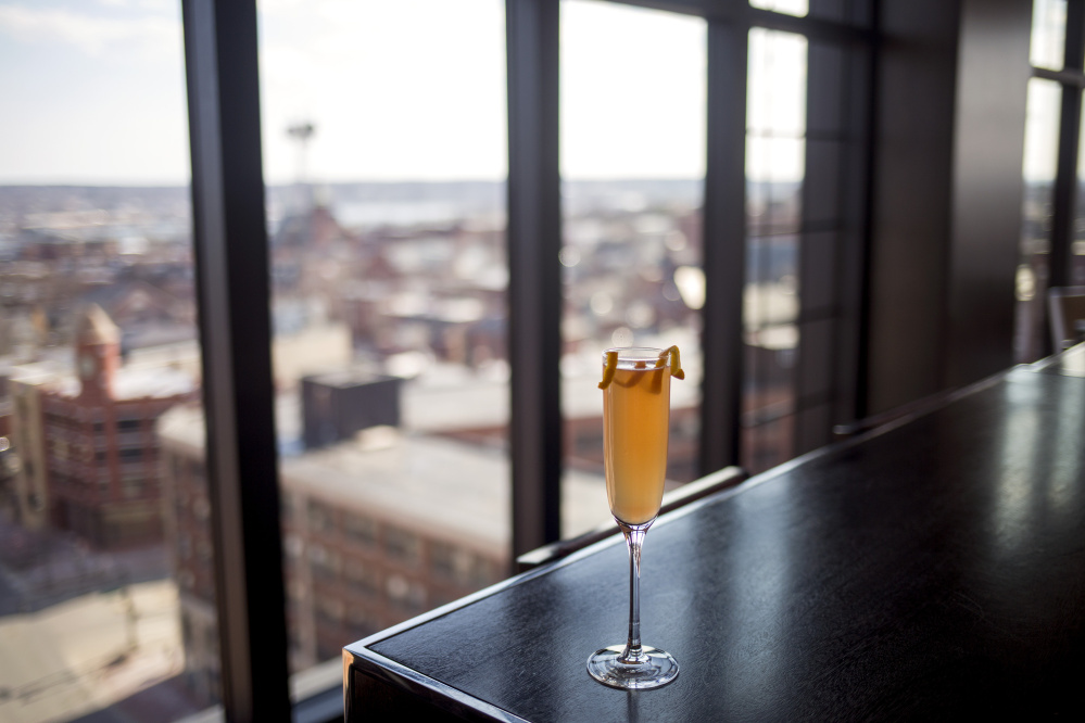 Relive the '80s with The Alex Owens, created for Spirit Quest by bartenders at the Top of the East in Portland.