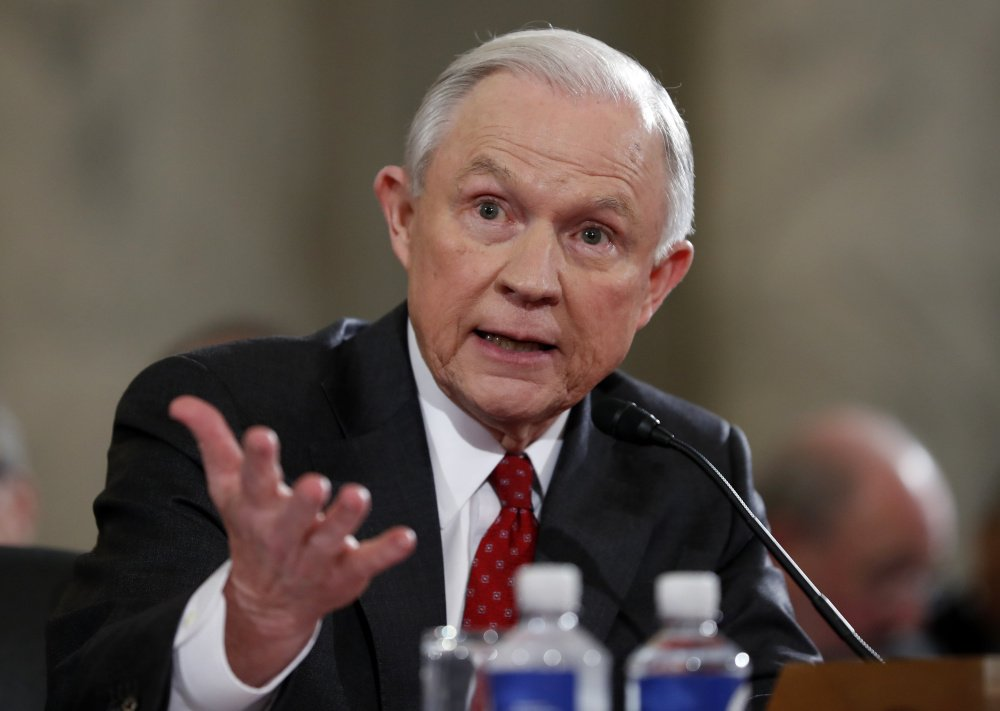 Some Democrats are accusing U.S. Attorney General Jeff Sessions of lying under oath during his January confirmation hearing about his contacts with Russia during the campaign.