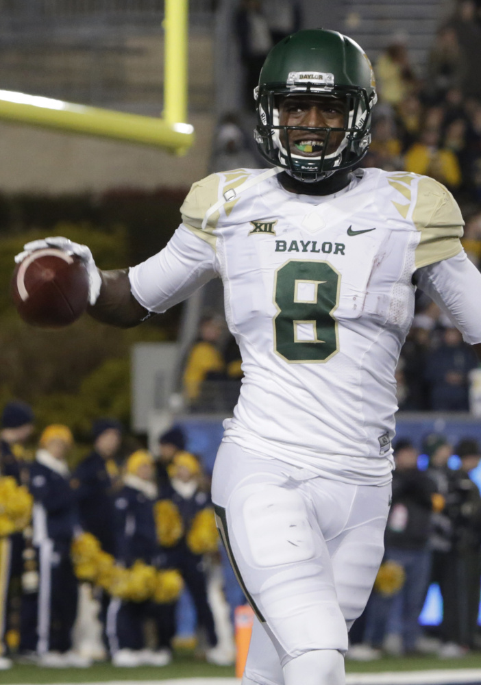 Like Mixon, Baylor receiver Ishmael Zamora, was not brought to the combine and will have to prove himself in individual interviews. Zamora was filmed abusing a dog.