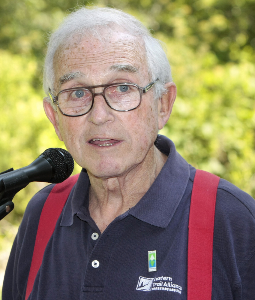 John Andrews, president and founder  of the Eastern Trail Alliance, died on Feb. 20 at age 79.