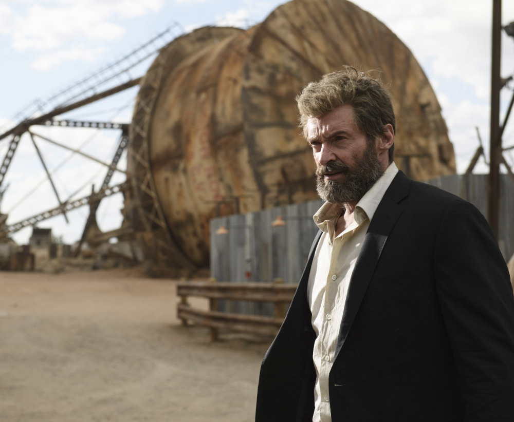 Hugh Jackman is Wolverine, based on a comic book character, in