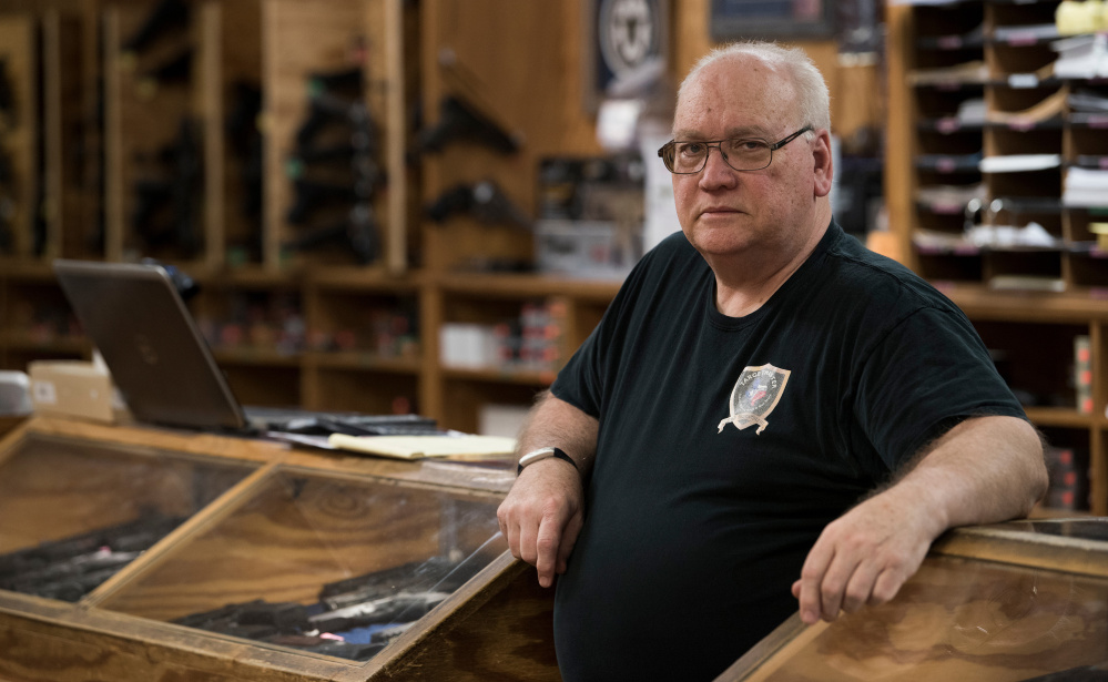 Tom Mannewitz, owner of the TargetMaster gun store and shooting range in Garland, Texas, says he is glad that President Obama is out of office but says Obama was great for business. The store sold record numbers of AR-15s during his term.
