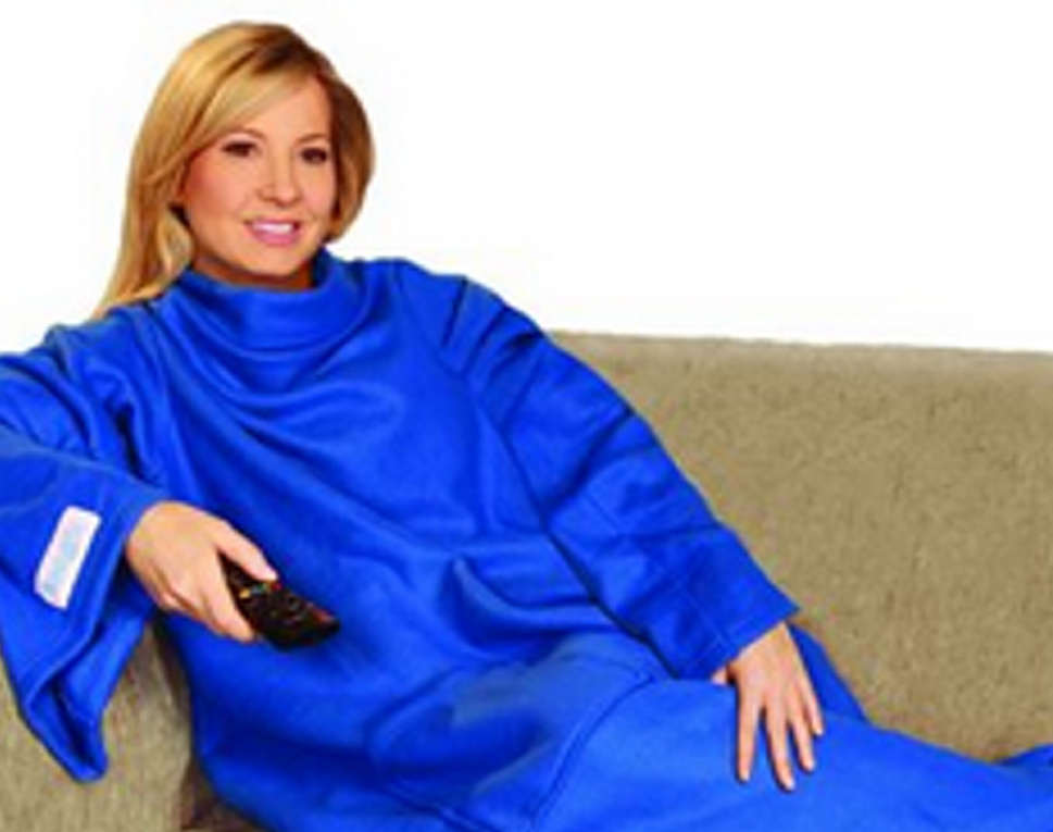 The Snuggie won in court when a judge ruled it's a blanket, not clothing, in part because it has no closures in the back.