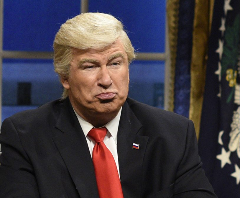 Alec Baldwin thinks the time will soon come to dump his SNL Trump portrayal.