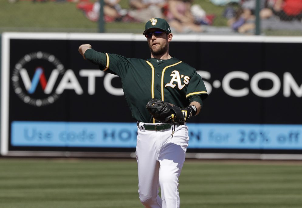 Oakland infielder Jed Lowrie is off to a good spring. Manager Bob Melvin says Lowrie has