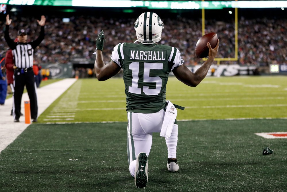 The New York Giants are hoping that Brandon Marshall, who played with the New York Jets last season, will provide a presence at outside receiver to go with Odell Beckham – two potentially strong targets for Eli Manning.