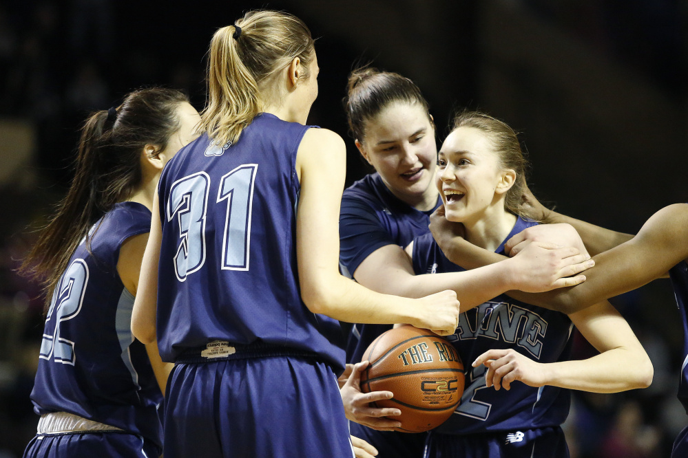 Sigi Koizar, who has come up big all season for UMaine, must continue her sharp shooting and defense as the Black Bears travel to Albany for the America East championship game.