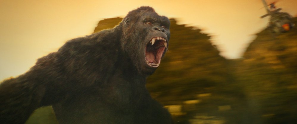 """The ape in """"Kong: Skull Island"""" is bigger than any of his previous movie incarnations."""