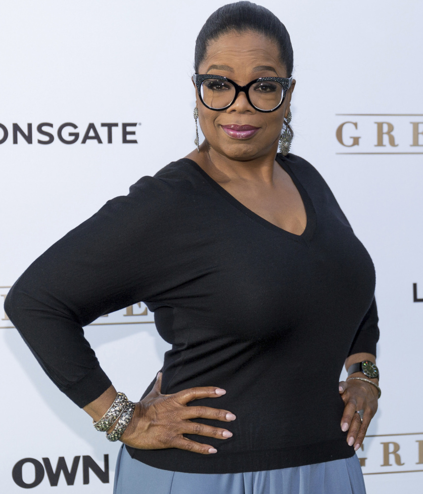Oprah Winfrey arrives at the Season 1 premiere of