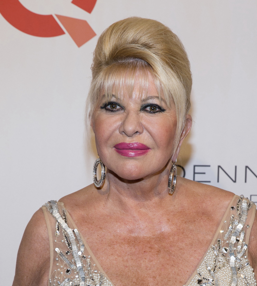 Ivana Trump, President Trump's first wife, is writing a story of