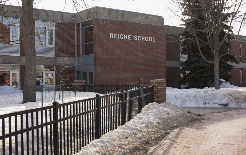 Portland's Reiche Elementary School is one of four schools that would be rebuilt if the City Council votes for a bond proposal on Monday night.