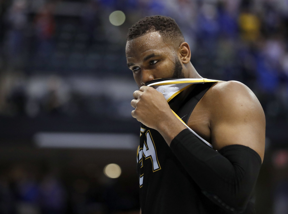 For the second time in four years, Wichita State's basketball season ended with a heartbreaking, second-round loss to Kentucky, as Shaquille Morris and the Shockers suffered a 65-62 defeat Sunday in Indianapolis.