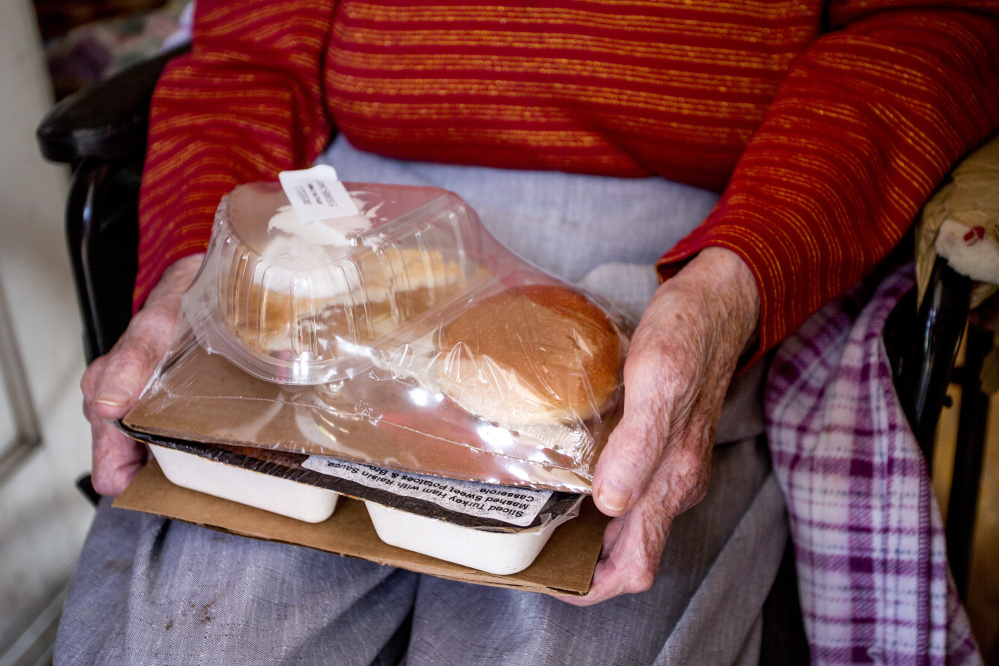 By delivering tasty, nutritious meals to homebound people 60 and older, Meals on Wheels is helping to meet a massive need. One in six Maine seniors – some 50,000 people – is struggling with hunger.