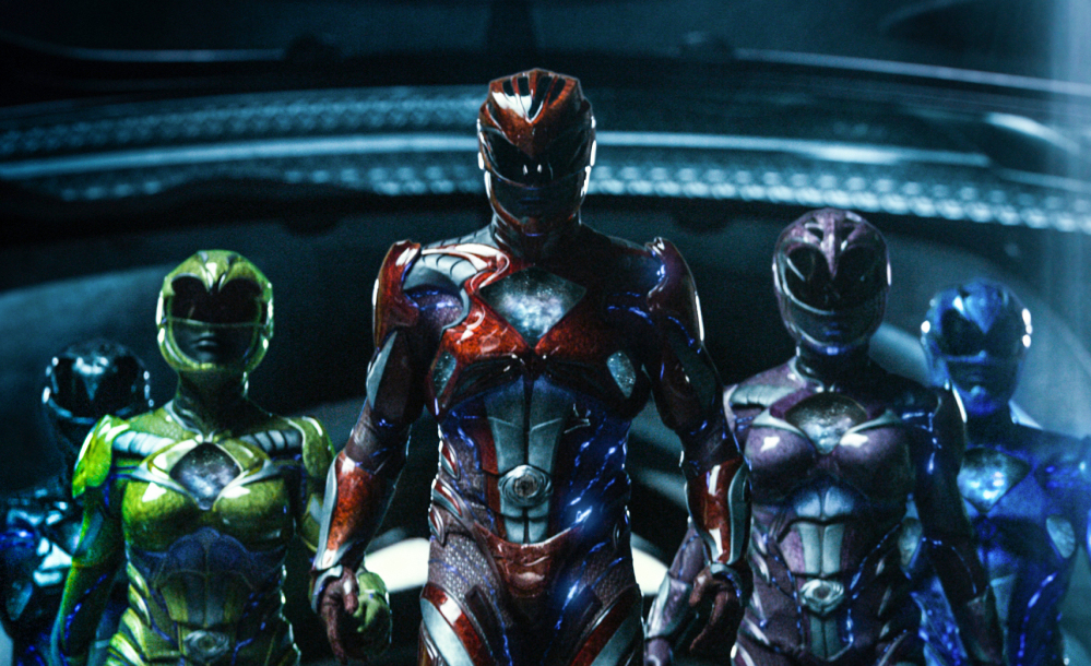 "Lionsgate's ""Power Rangers"" earned $40.5 million to grab the No. 2 spot."
